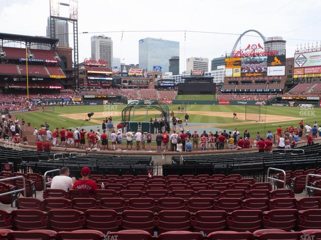 Busch Stadium Home Field Box 149 view