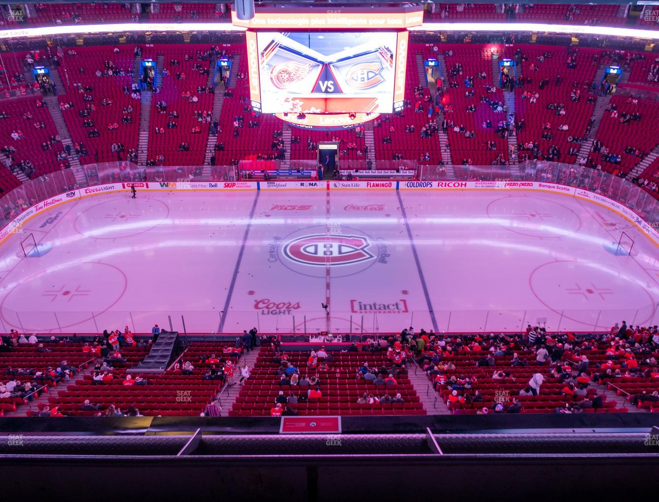 Montreal Canadiens at Bell Centre Section 319 View