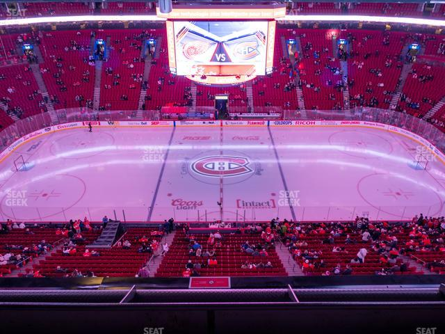 Bell Centre Section 319 view