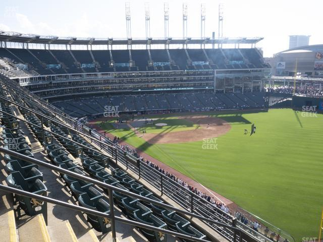 Progressive Field Section 421 view