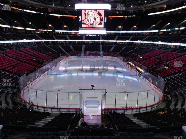 Canadian Tire Centre Molson Canadian Fan Deck 215 view