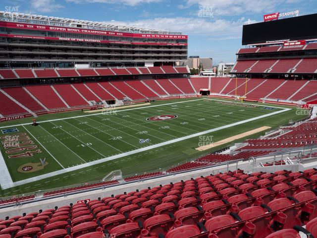 Levi's Stadium Section 222 view