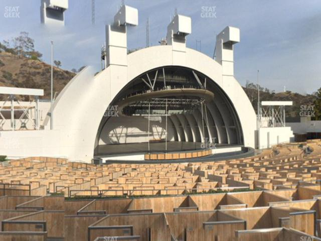 Hollywood Bowl Terrace 6 view