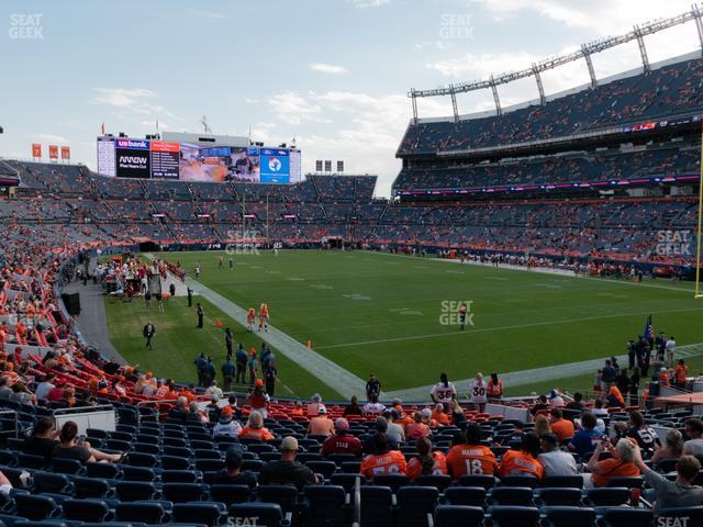 Empower Field at Mile High Section 117 view