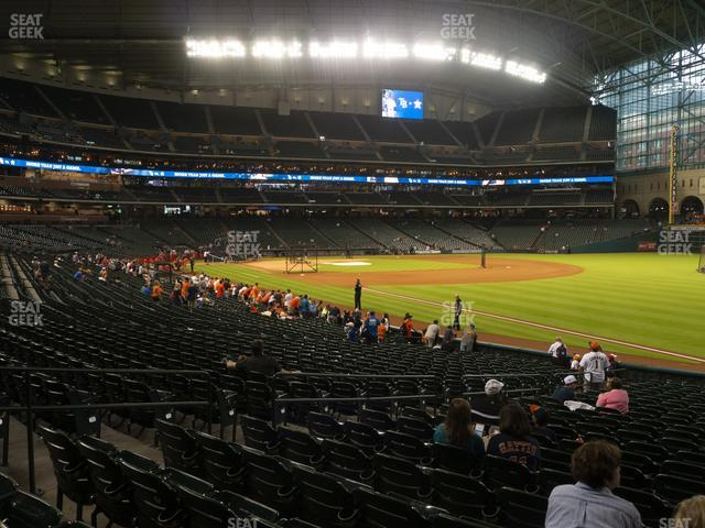 Minute Maid Park Section 133 view