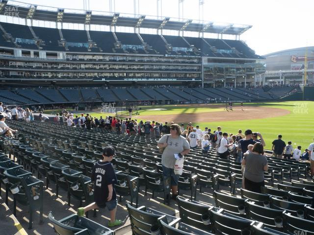 Progressive Field Section 130 view