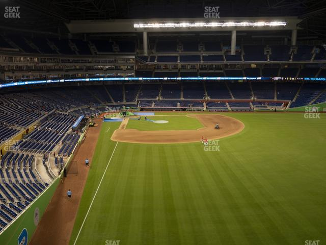 Marlins Park Section 141 view