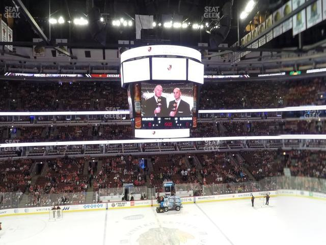 United Center Section 218 view