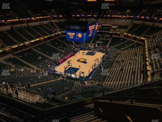 Bankers Life Fieldhouse Section 230 view