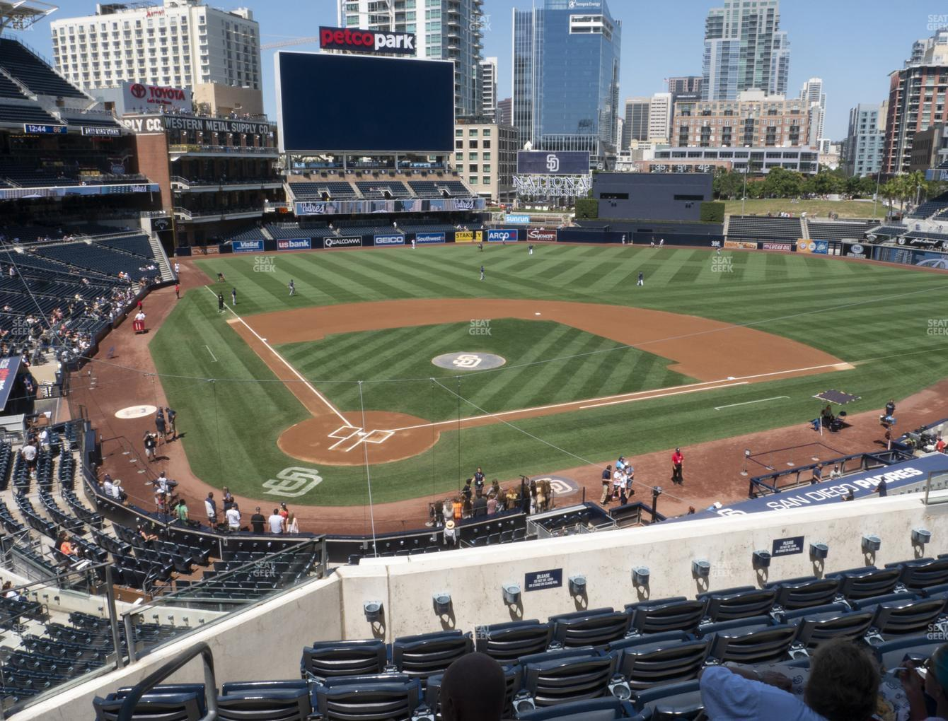 San Diego Padres at Petco Park Section 201 View