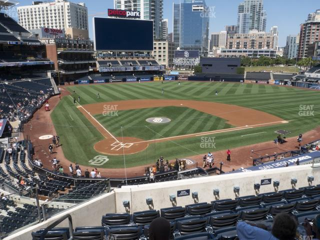 Petco Park Section 201 view
