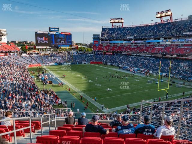 Nissan Stadium Section 202 view