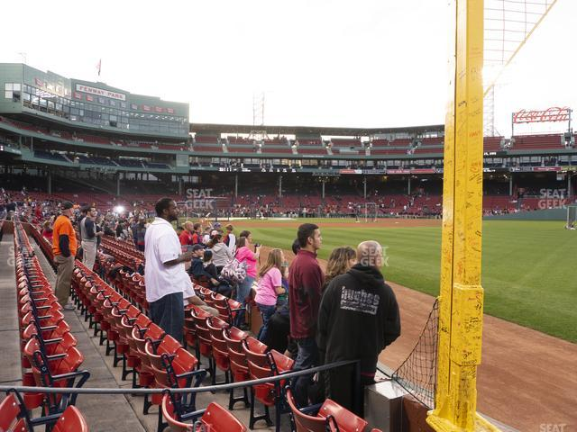 Fenway Park Right Field Box 5 view