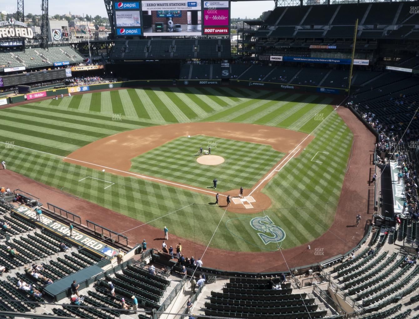Seattle Mariners at T-Mobile Park Section 334 View