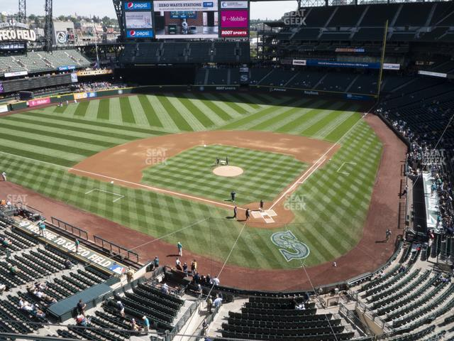 T-Mobile Park Section 334 view