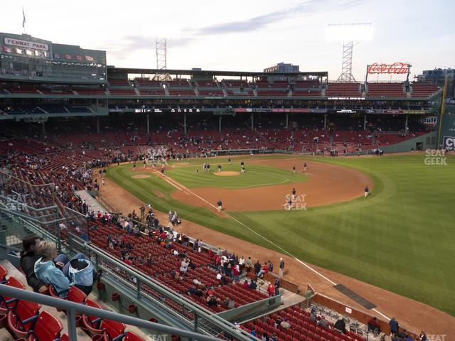 Fenway Park Right Field Roof Box 25 view