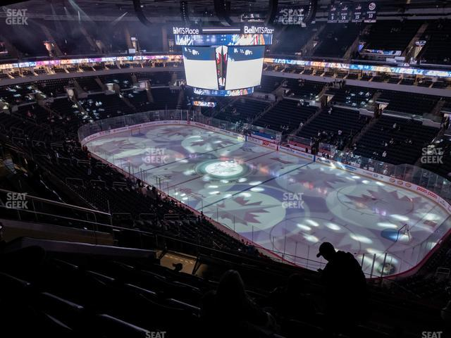 Bell MTS Place Section 302 view