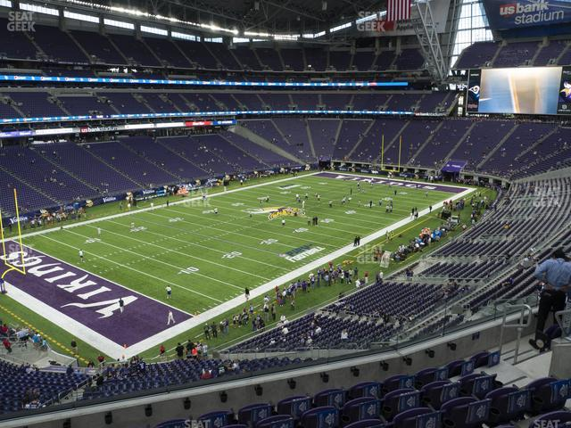 U.S. Bank Stadium Section 241 view