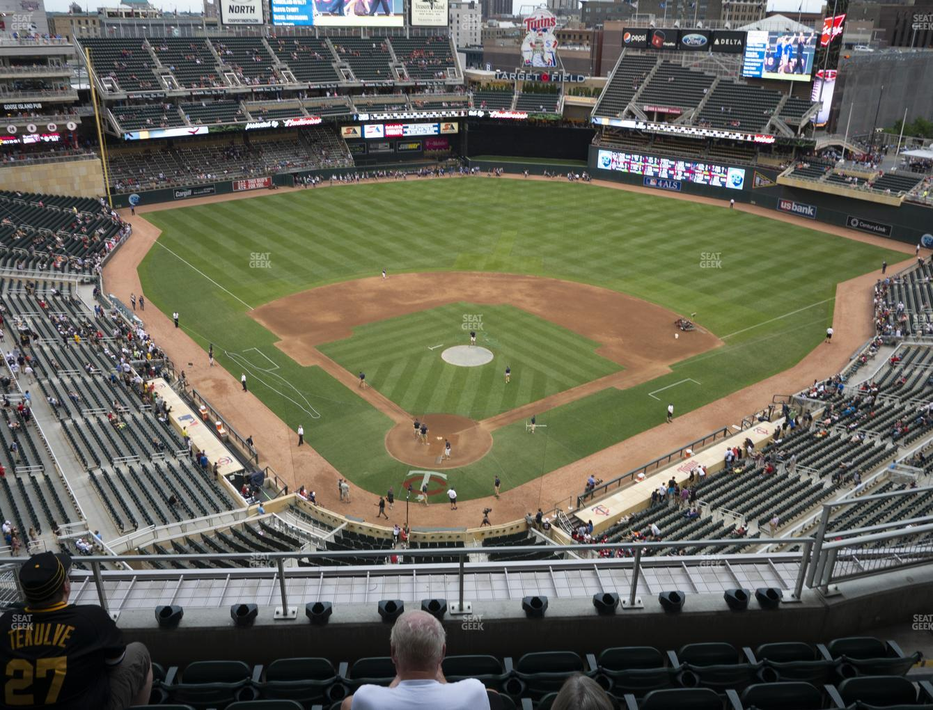 Minnesota Twins at Target Field Section 314 View