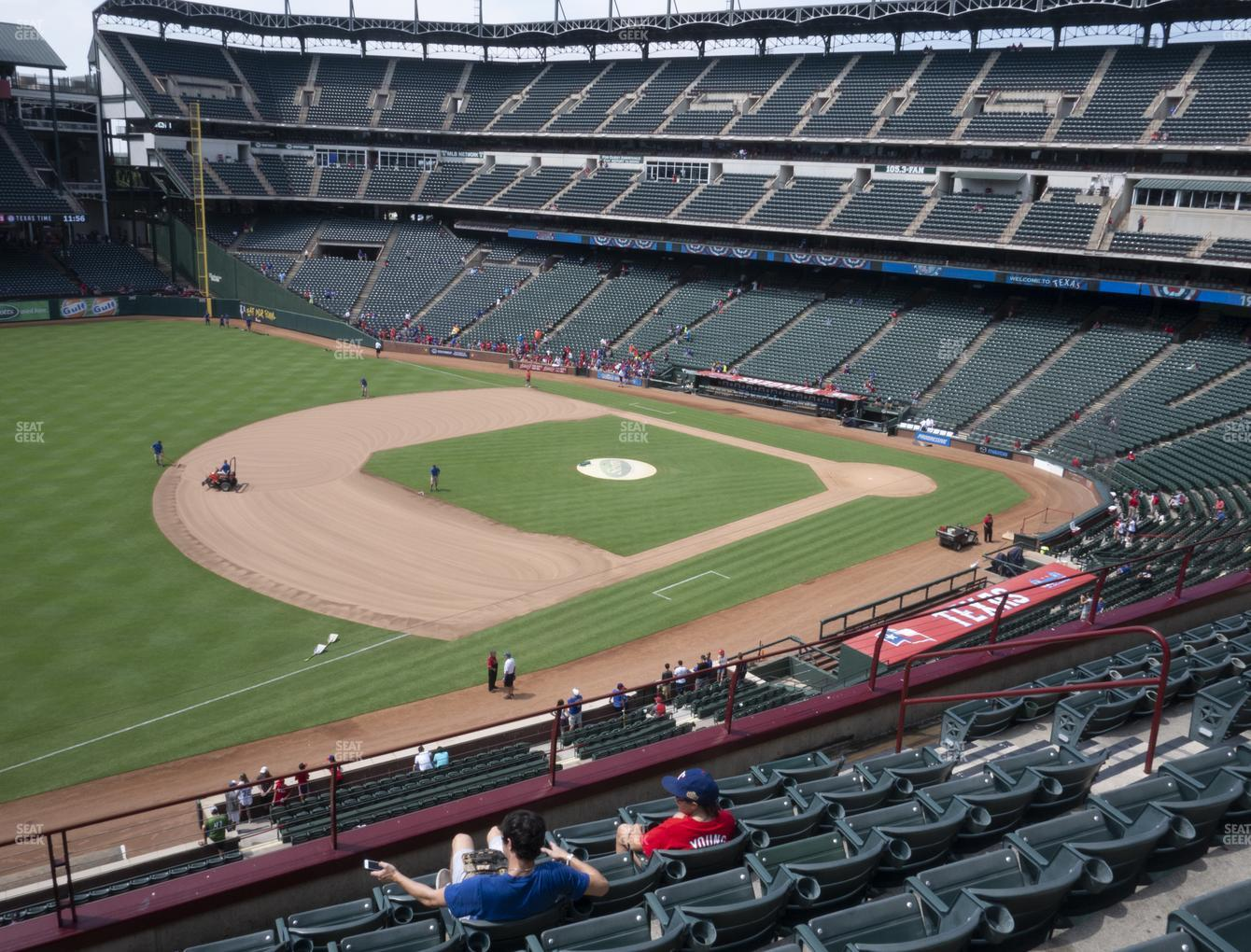 Concert at Globe Life Park Section 215 View