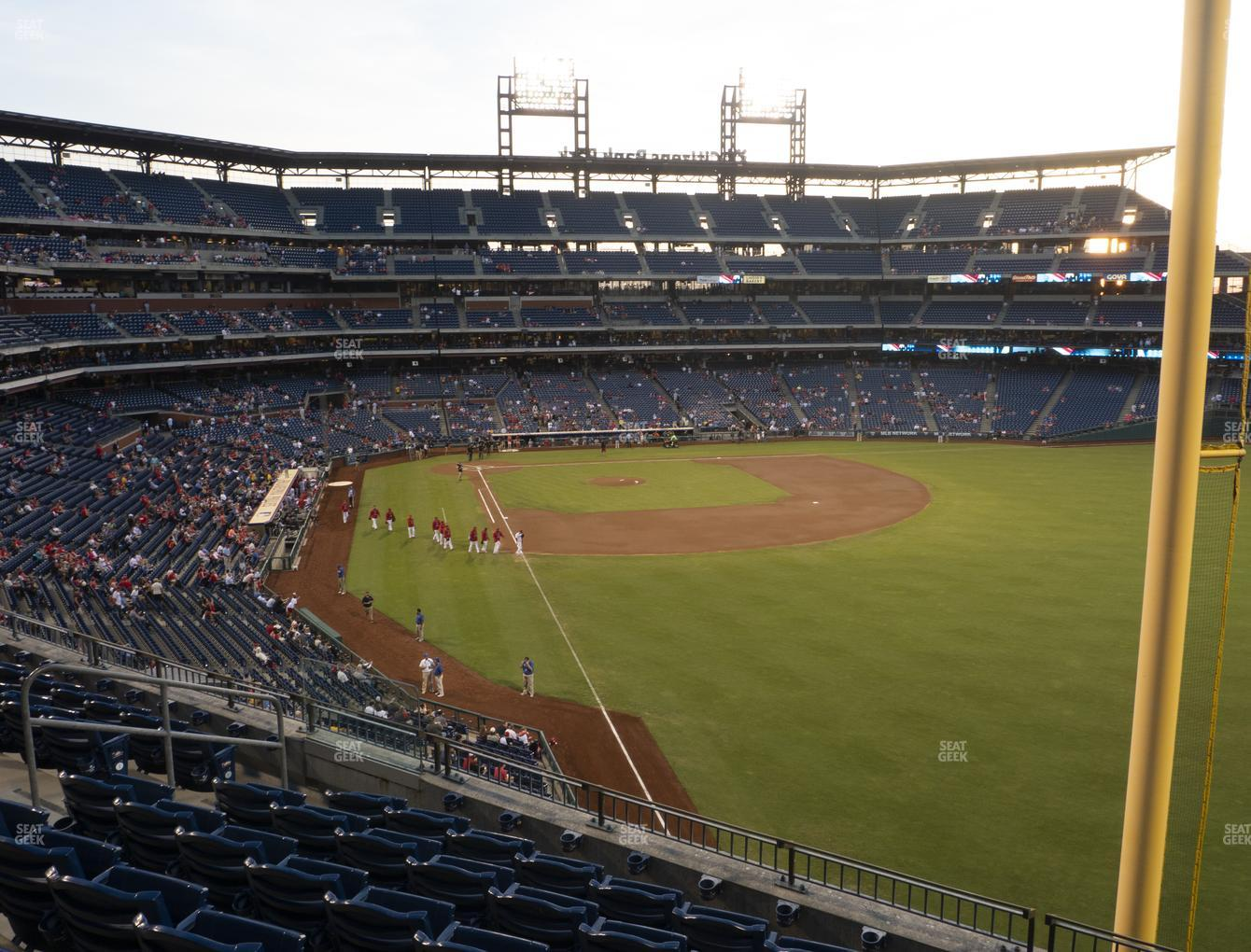 Philadelphia Phillies at Citizens Bank Park Section 206 View