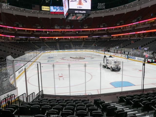 Honda Center Section 216 view