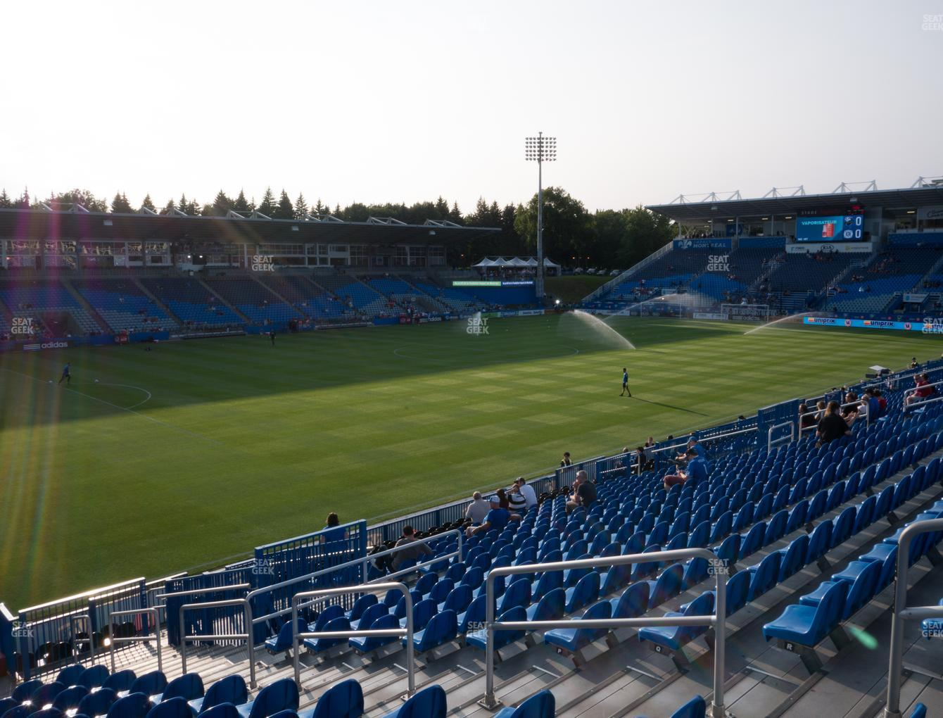 Montreal Impact at Saputo Stadium Section 127 View