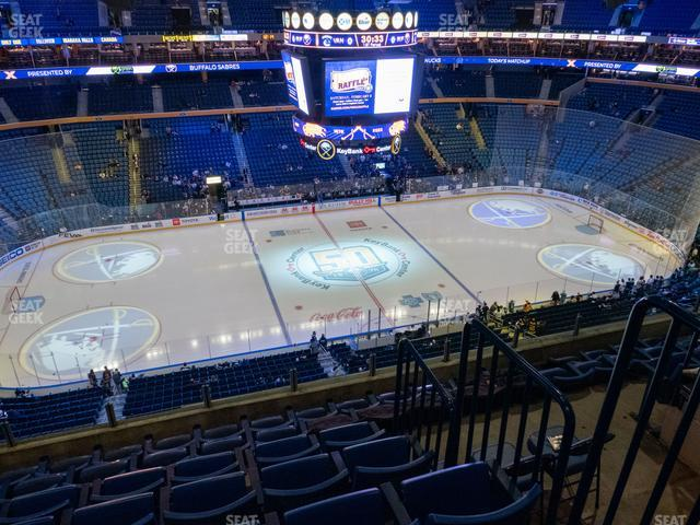 KeyBank Center Section 321 view