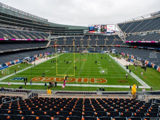 Soldier Field Section 251 view