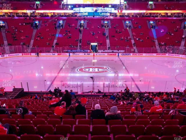 Bell Centre Section 113 view