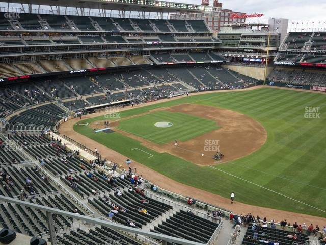 Target Field Section 205 view