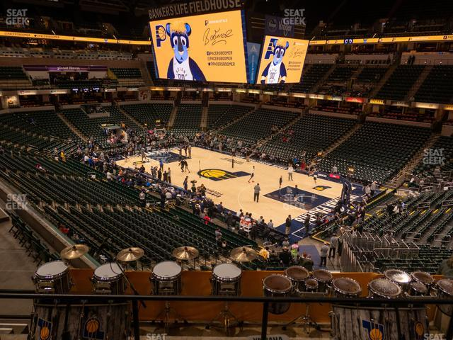 Bankers Life Fieldhouse Section 101 view