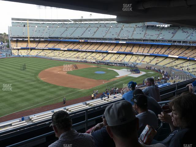 Dodger Stadium Suite 201 view
