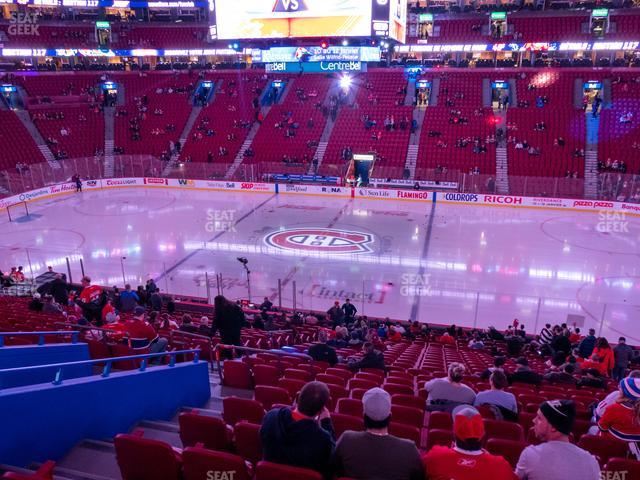 Bell Centre Section 112 view