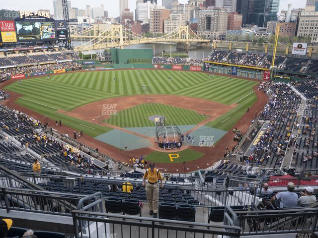 PNC Park Section 317 view