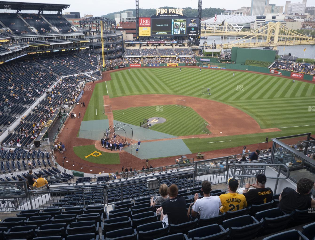 Pittsburgh Pirates at PNC Park Section 312 View