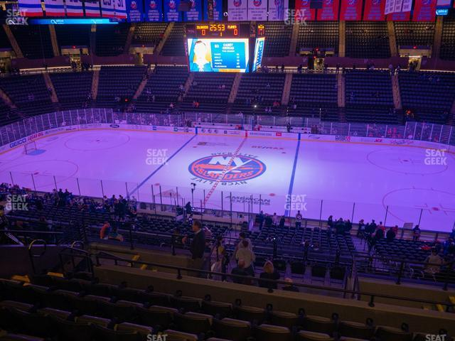 Nassau Veterans Memorial Coliseum Section 202 view