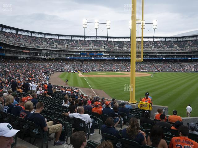 Comerica Park Section 112 view
