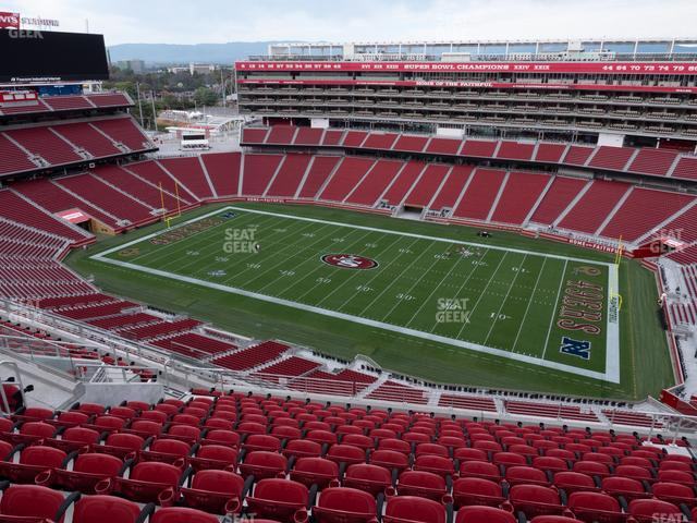 Levi's Stadium Section 408 view