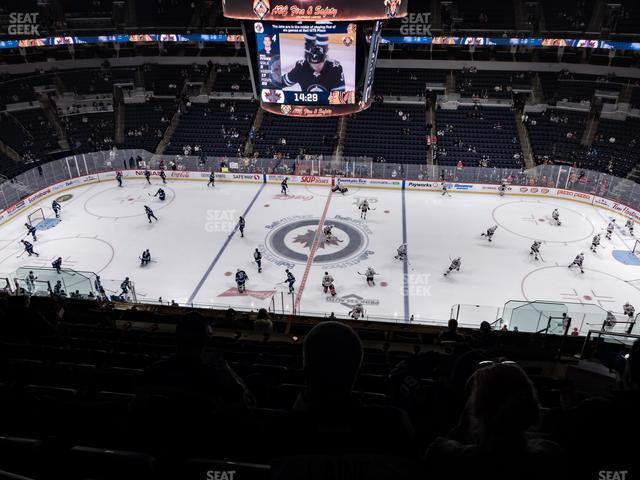 Bell MTS Place Section 320 view
