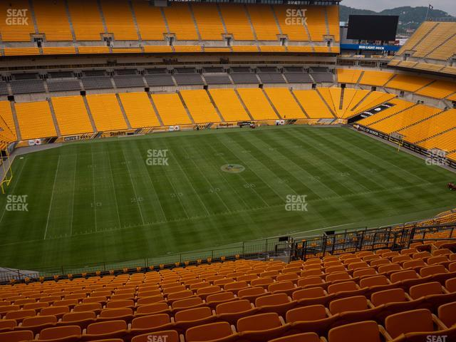 Heinz Field Section 508 view