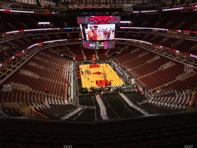 United Center Section 310 view