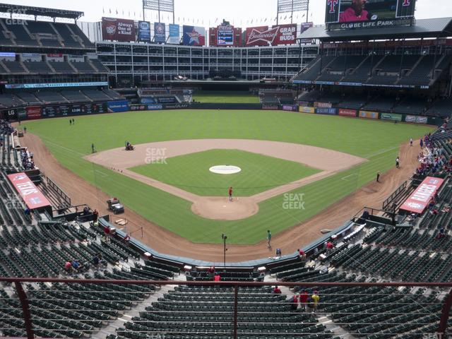 Globe Life Park Section 226 view