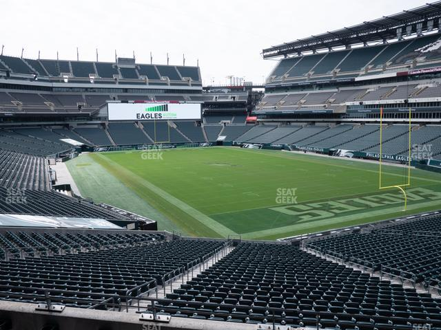 Lincoln Financial Field Northeast Terrace 1 view