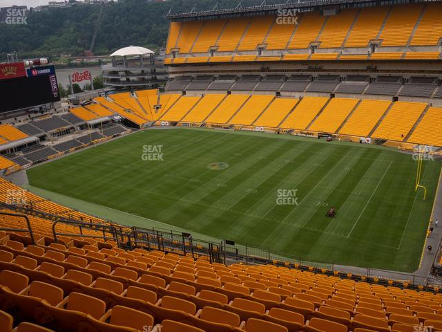 Heinz Field Section 515 view