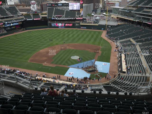 Target Field Section 318 view