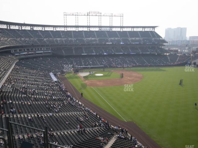 Coors Field Lower 311 view
