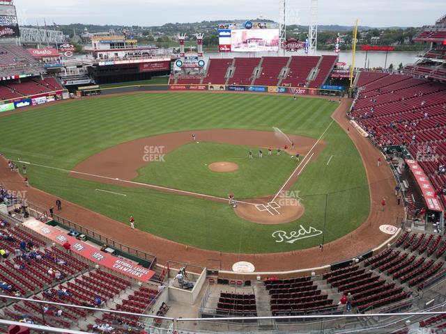 Great American Ball Park Section 421 view
