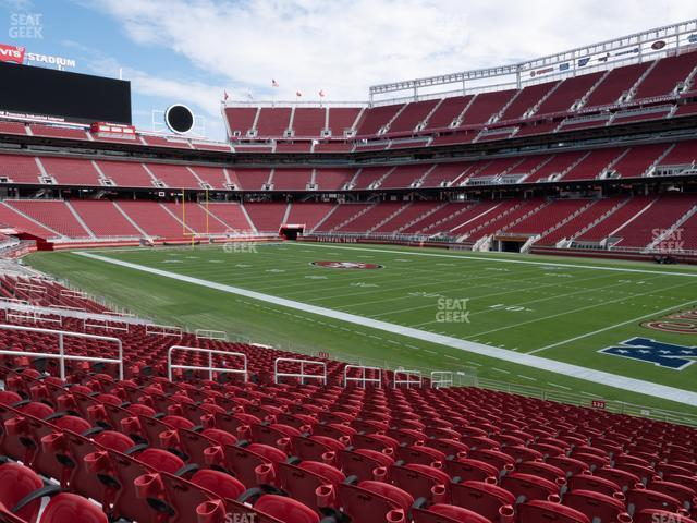 Levi's Stadium Section 132 view