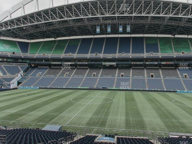 CenturyLink Field Section Club 234 view